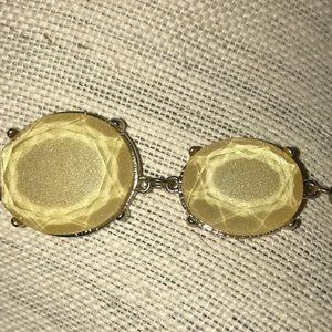 Jewelry - 20inch vintage acrylic metal chain